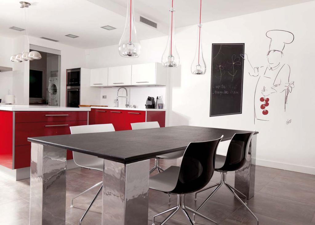 Pintura para cocina trendy como pintar azulejos antes y - Pintura de cocina ...