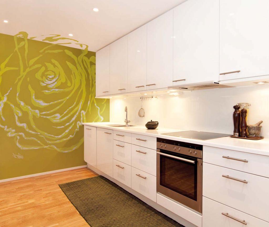 Bonito Murales Para Cocinas Im Genes Pintura Para Cocinas  # Muebles De Cocina Kiwi